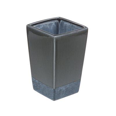 Ceramic vase grey
