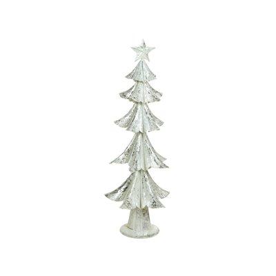 Weihnachtsbaum Silber/weiss