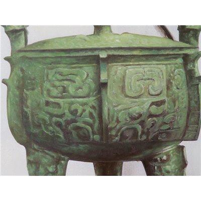 Cuadro oleo urna 80x100 cm