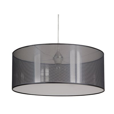 Zurich ceiling lamp black