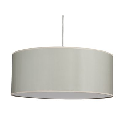 Ceramic ceiling lamp gray