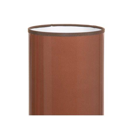 Ceramic brown table lamp