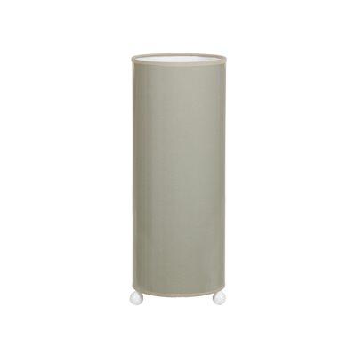 Ceramic table lamp gray