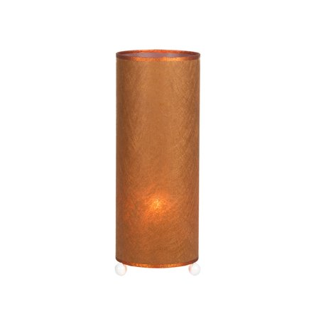 Tropic copper table lamp