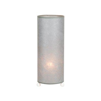 Lámpara mesa Tropic plata