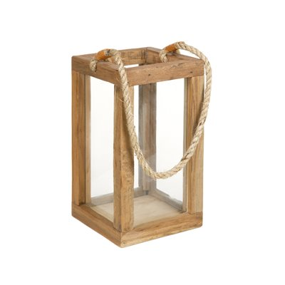 Candelabro farol - Porta velas con cuerda