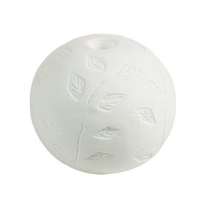 Weiße Terrakotta-Kerze-Halter