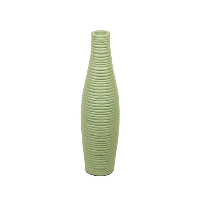 Moss terracotta vase