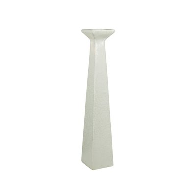 Weiße Vase Rose