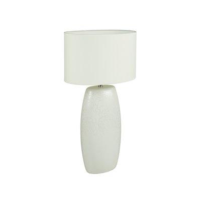 White lamp rose