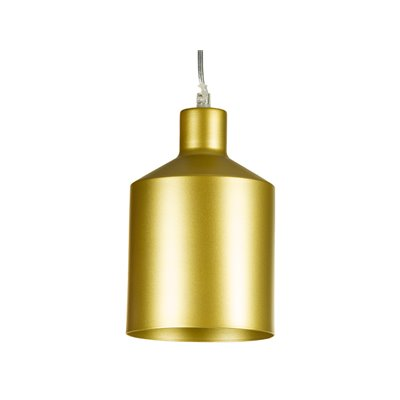 Champagne metal ceiling lamp