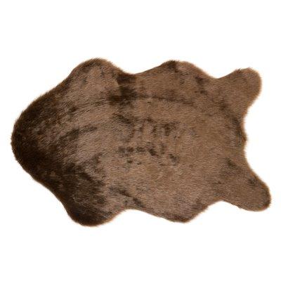 Schaffell braun Teppich