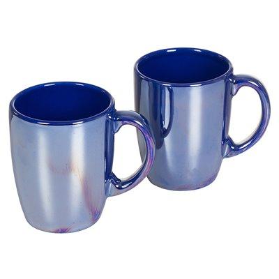 Juego de 6 jarras con Lustre azul marino