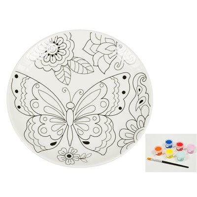 Platte-Kunst & Farbe