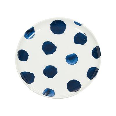 Appetizer plate indigo