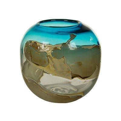 Kristall dekoriert vase