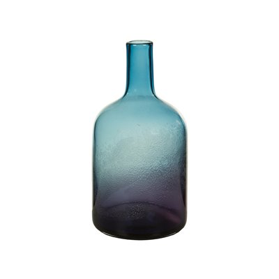 Crystal decorated vase