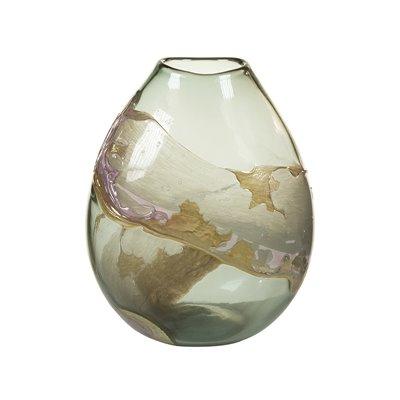 Vaso cristal decorado