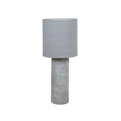 Lámpara gris cerámica