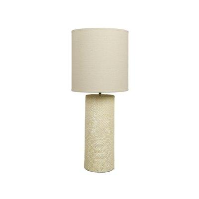 Lámpara crema cerámica