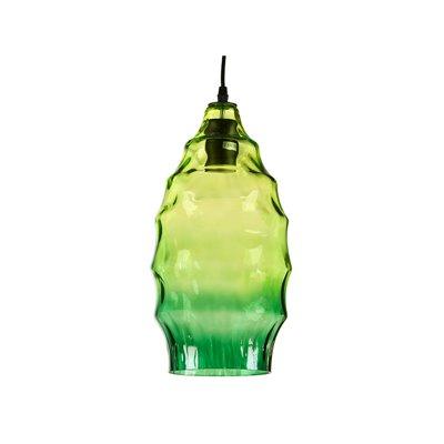 Lámpara de techo verde