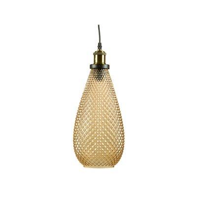 Lámpara techo dorada