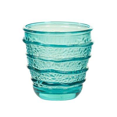 Vaso Organic turquesa
