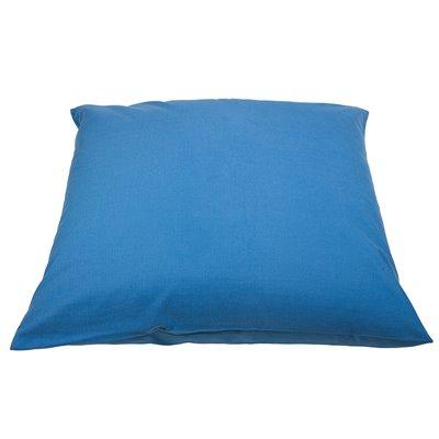 Panama blue pouf