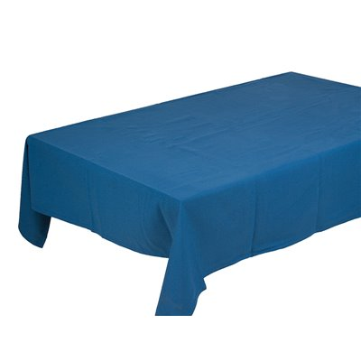 Panama blue tablecloth