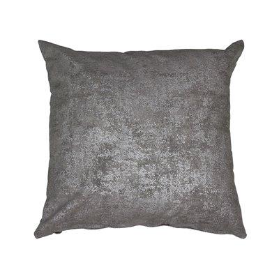 Coussin marbre gris