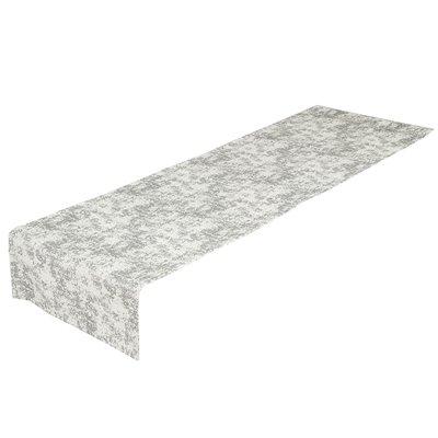 Chemin de table marbre argent
