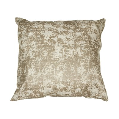 Coussin marbre champagne