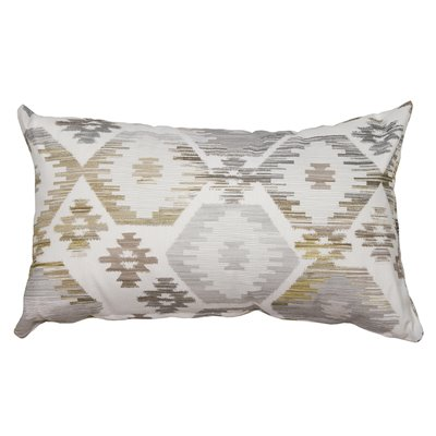 Gray hexagon cushion