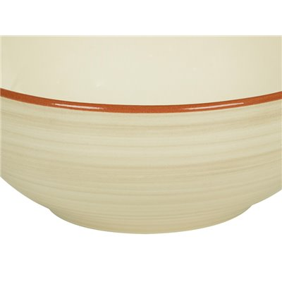 Set of 6 bowls beige Tuscany