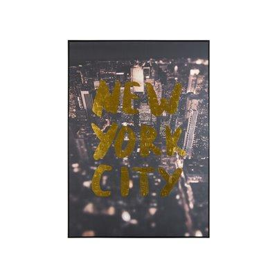"Cuadro ""New York City"" sobre lienzo"