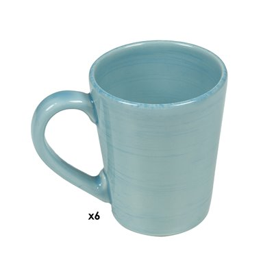 Set of 6 cups blue Mare