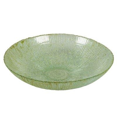 Centro de mesa Spiro rayas verde