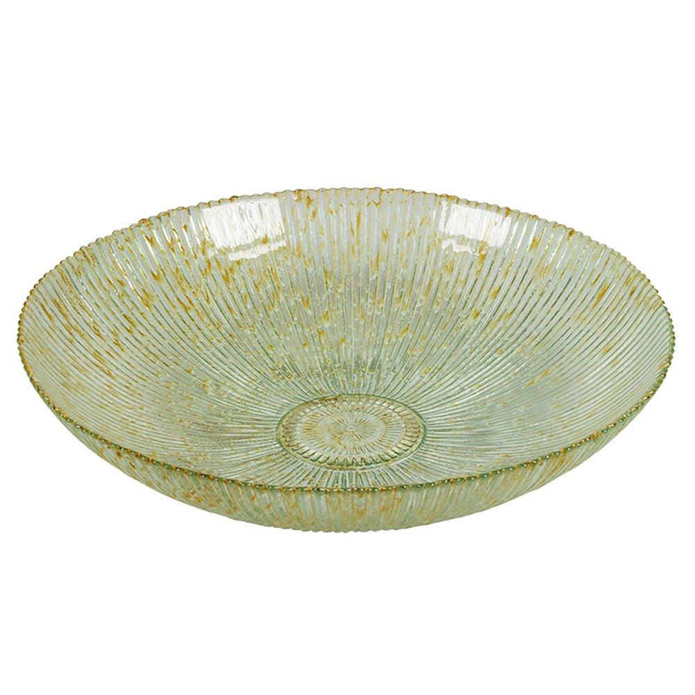 Centro de mesa Spiro raias beige