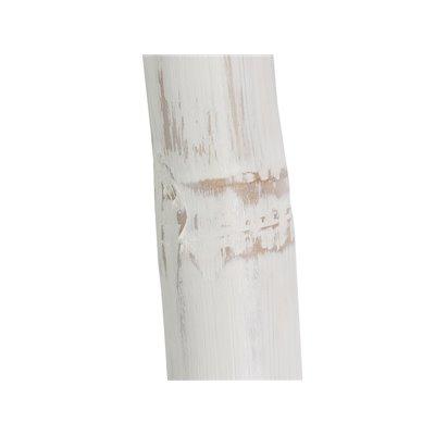 Escalera de Bambú blanca