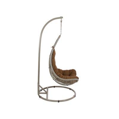 Brown basket swing