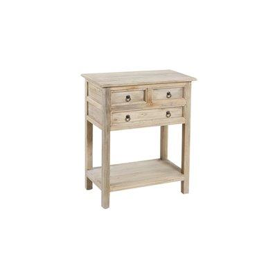 Tabelle mit 3 dr.66x38x68 cm