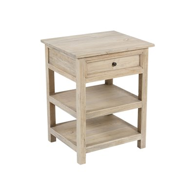 Mesa con dos estantes 54x46x69 cm