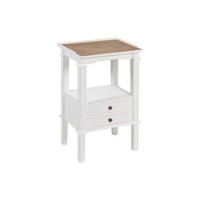 Phone table 2 drawer