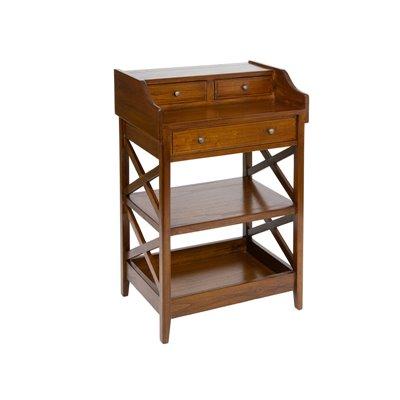 Cabinet 3 drawers cross