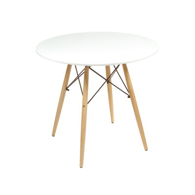 Round table white