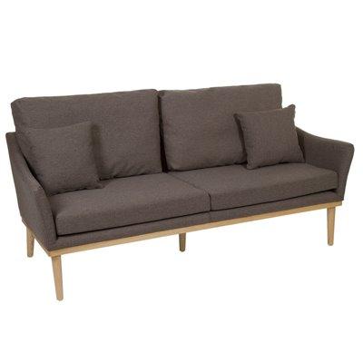 Sofa fabric covered 3 seats