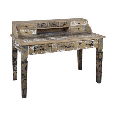 Beizen von Holz Schreibtisch