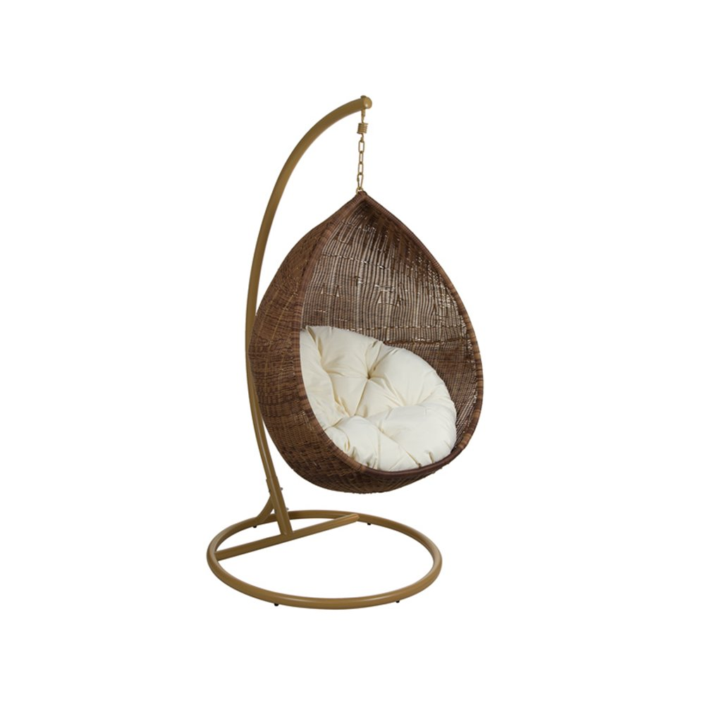 Rattan pendant chair