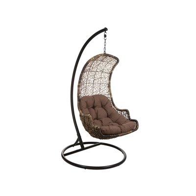 Cadeira de vime pingente