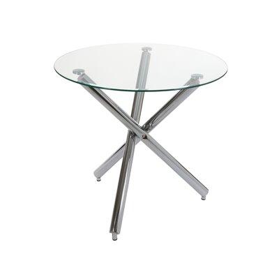Mesa redonda con pies metal